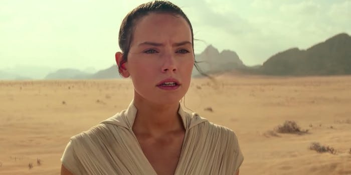 Star Wars- Rey who meme