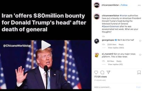 George Lopez Trump joke