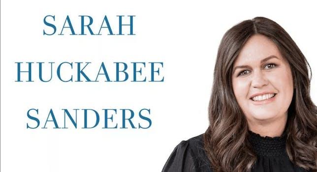 sarah sanders book