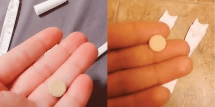 TikTok videos plan B pregnancy tests