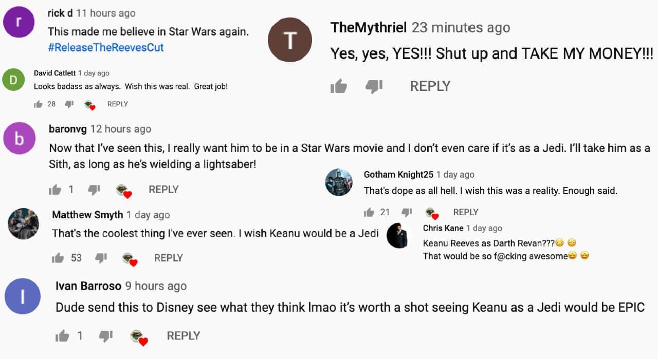 Star Wars - keanu Reeves