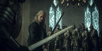 the witcher cursing