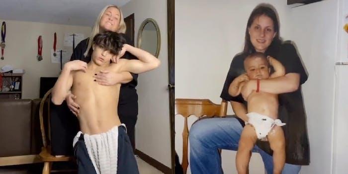 Teen mom - TikTok trend