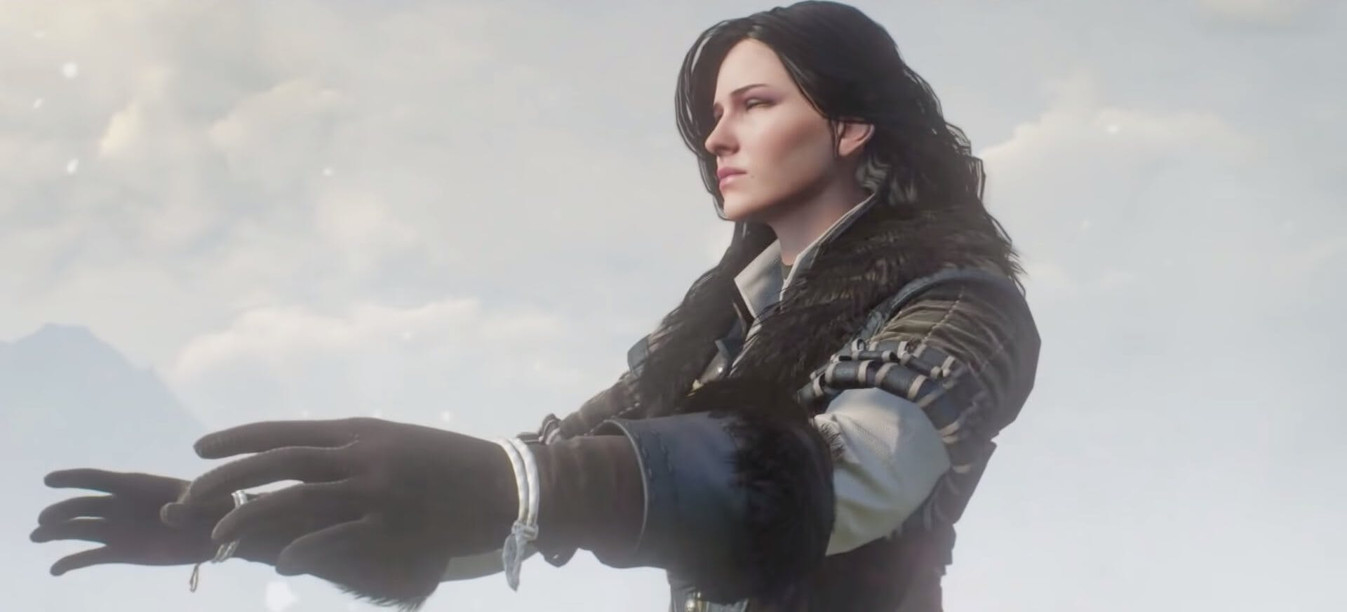 Yennefer - the Witcher magic
