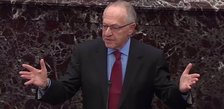 alan_dershowitz trump impeachment #dershowitzlogic