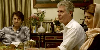 anthony bourdain iran hulu