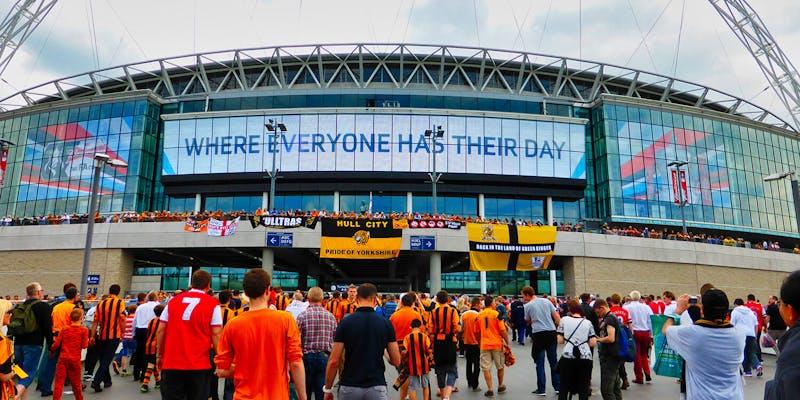 Wembley Stadium at 2014 FA Cup Final