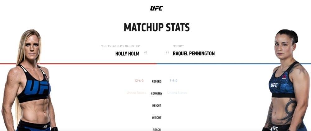 Holly Holm vs Raquel Pennington UFC 246 live stream