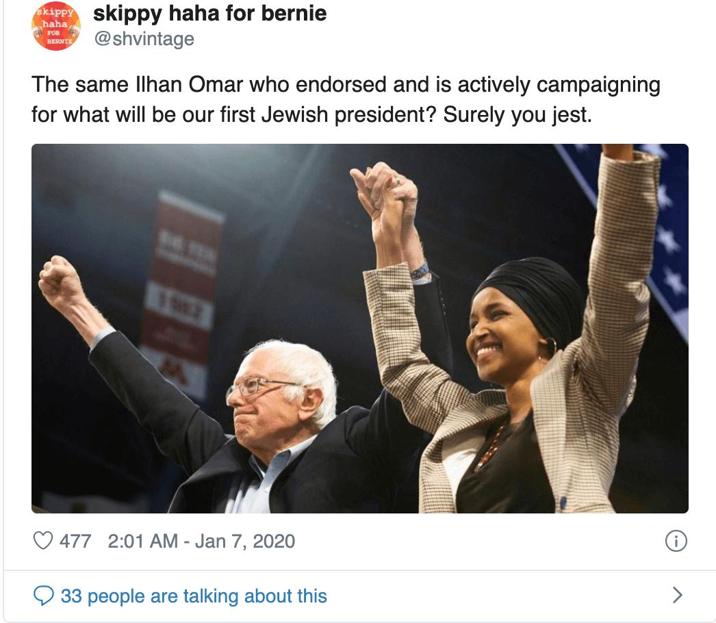Ilhan-Omar-Antisemite