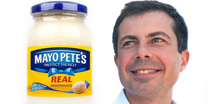 mayo pete with mayor pete