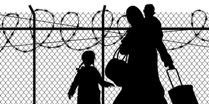 migrant surveillance social media free speech