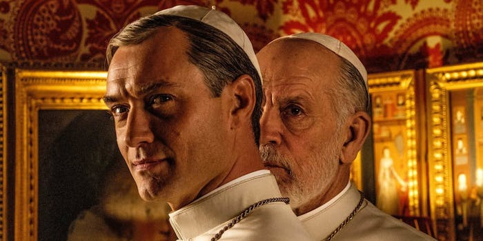 new pope hbo review