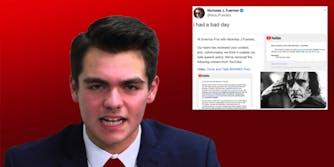 Nick Fuentes YouTube ban