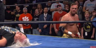 NWA Hard Times live stream Nick Aldis vs Flip Gordon