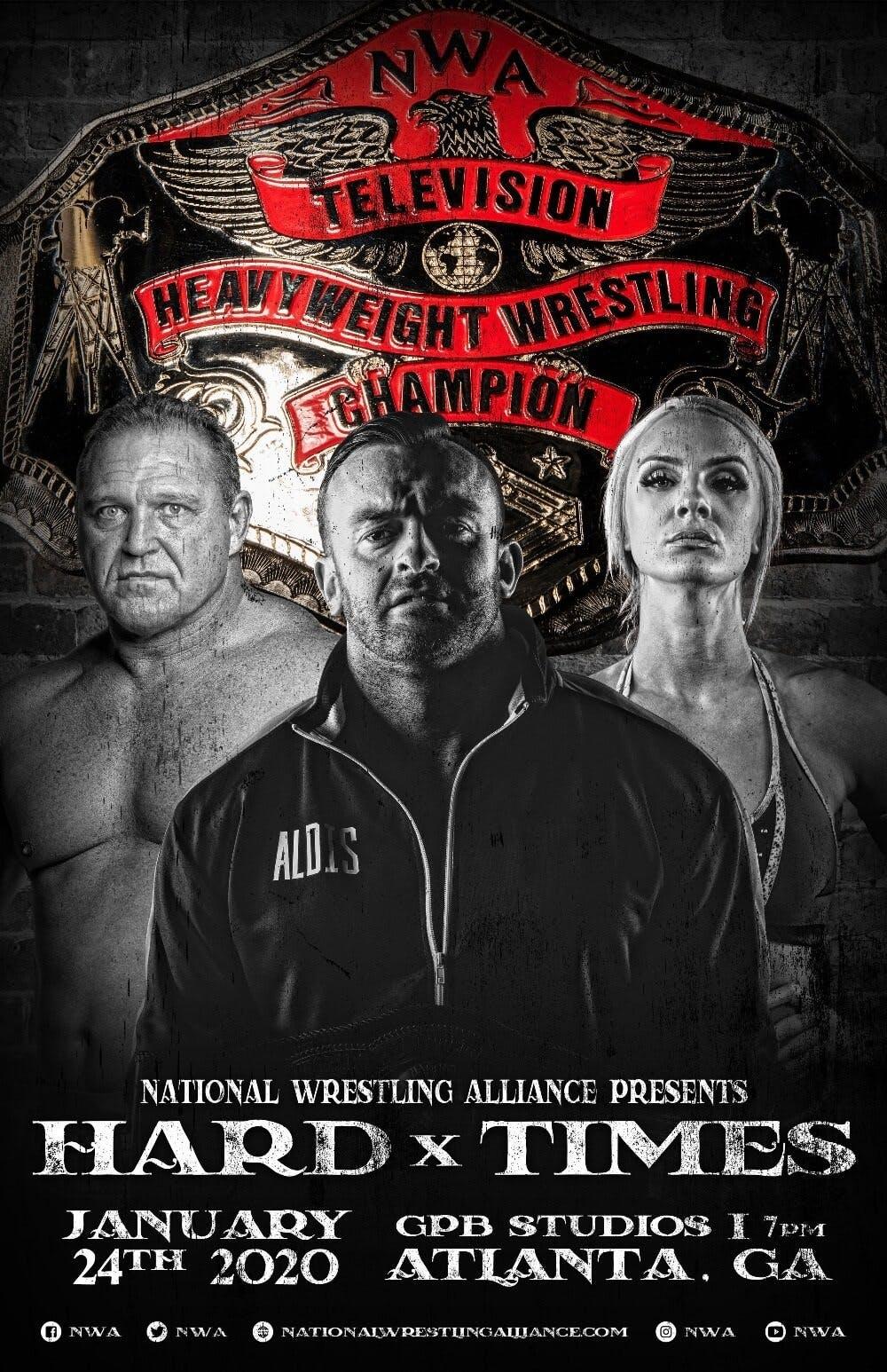 NWA Hard Times PPV live stream