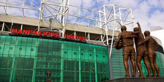 Old Trafford, home stadium of Manchester United
