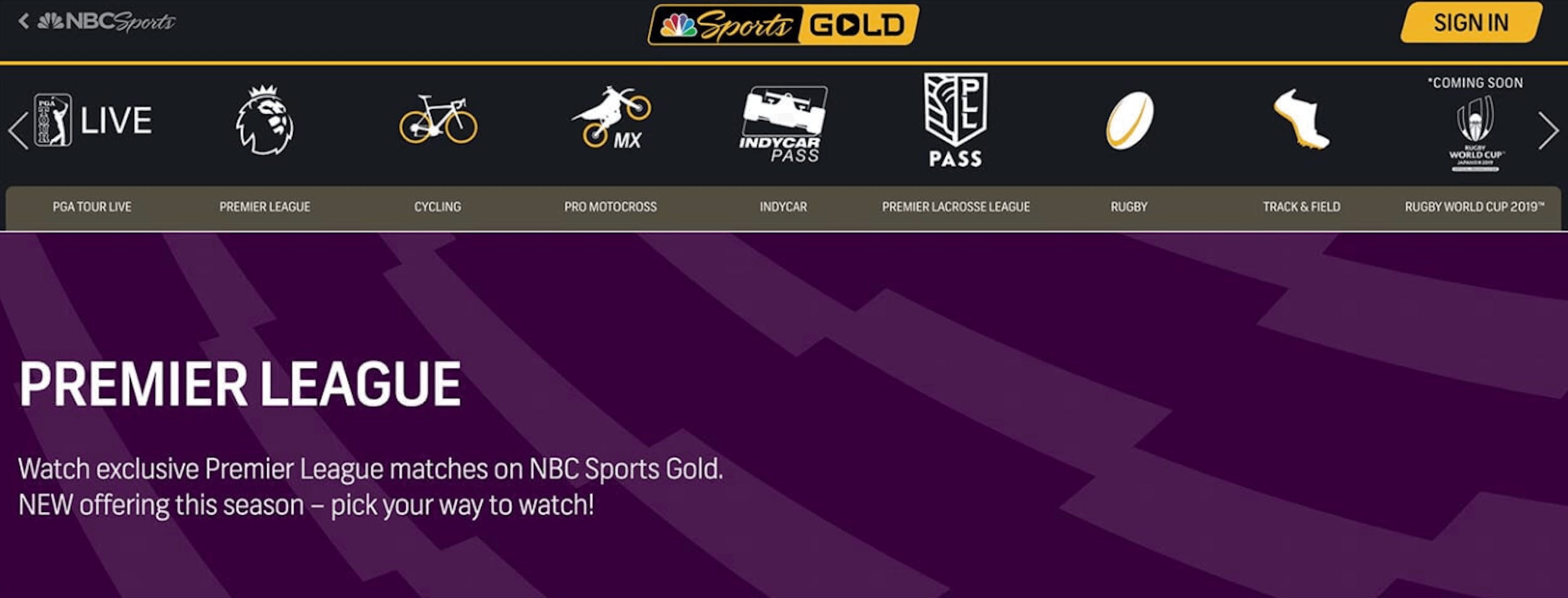 spurs vs man city live stream NBC sports gold