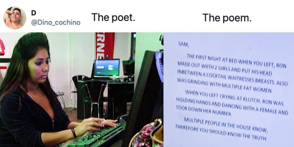 the poet the poem meme