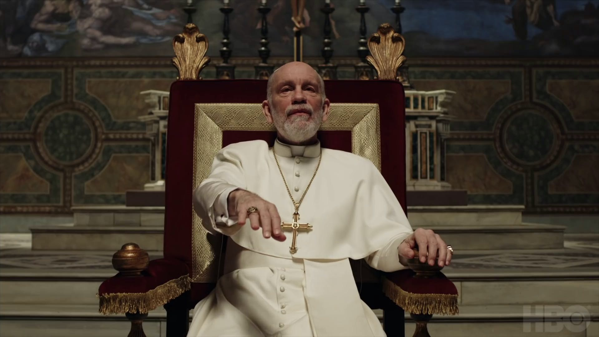 the new pope cast