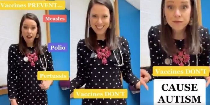 TikTok vaccine video death threats