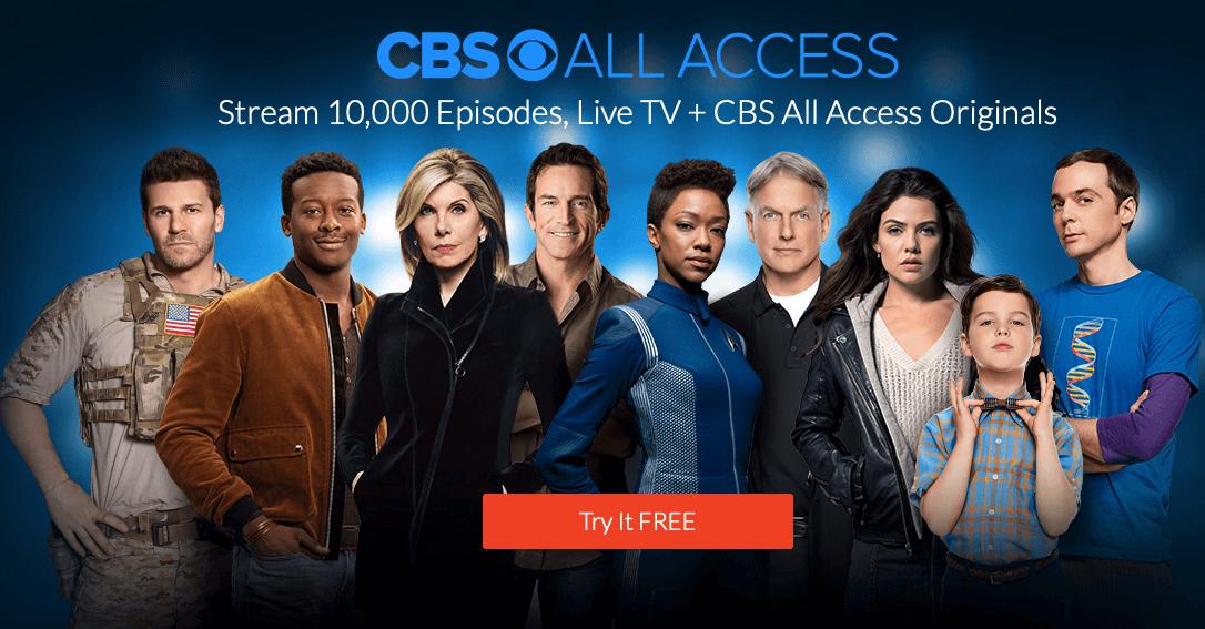 watch Star Trek the next generation on CBS All Access