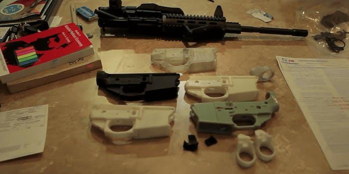 pieces-of-a-3D-printed-gun