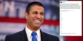 Ajit Pai Net Neutrality Tweet Docket Comments
