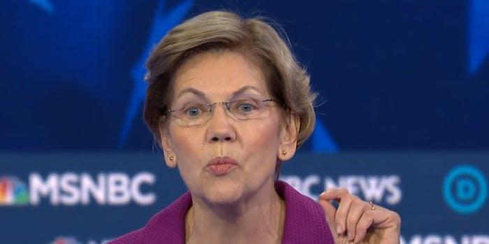 Elizabeth Warren Nevada Debate