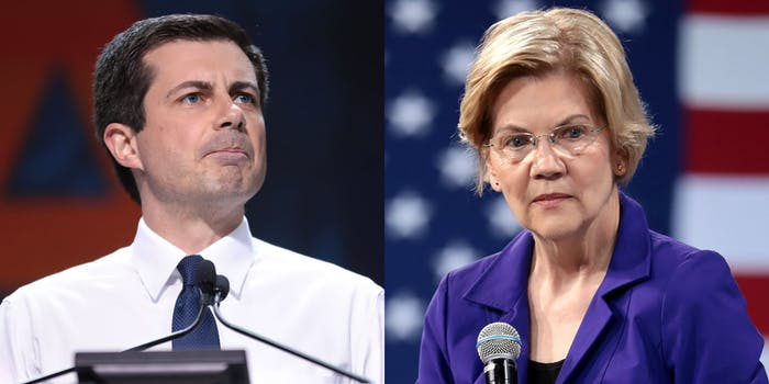 George Zimmerman Elizabeth Warren Pete Buttigieg