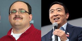 Ken Bone Endorses Andrew Yang 2020