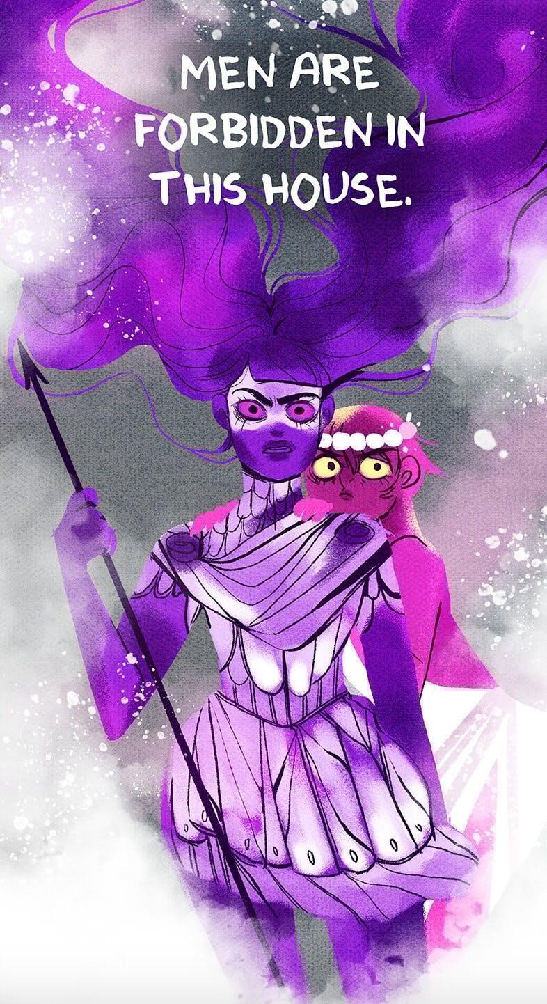 Lore Olympus - Artemis