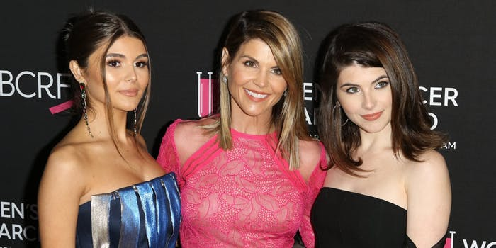 Lori Loughlin and daughters