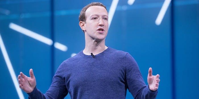 Mark Zuckerberg Facebook Regulation