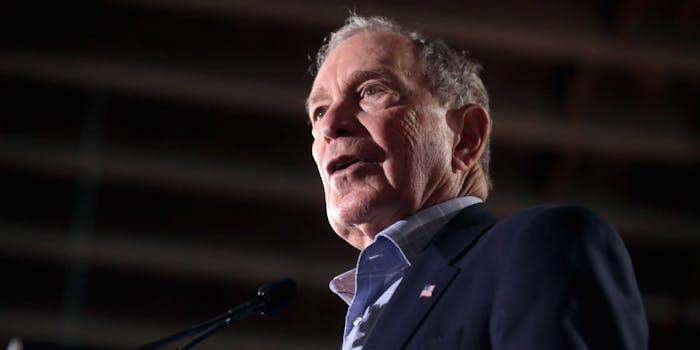 Michael Bloomberg Democratic Socialism Social Media