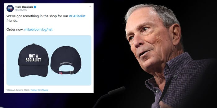 Michael Bloomberg Not A Socialist Hat