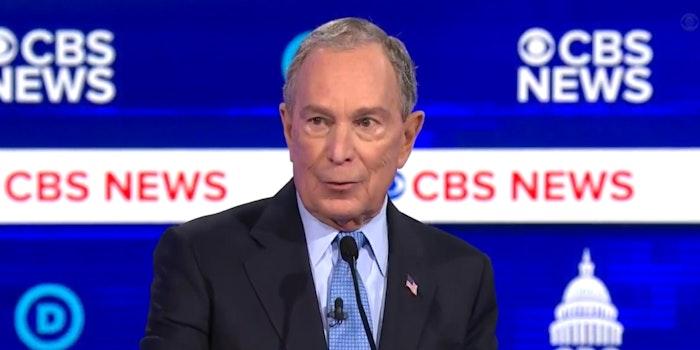 Michael Bloomberg South Carolina Debate