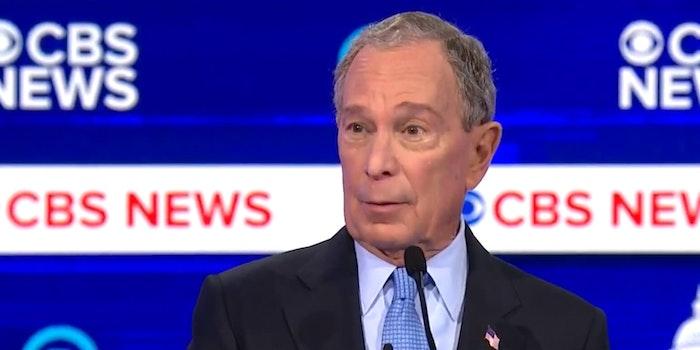 Mike Bloomberg South Carolina Debate