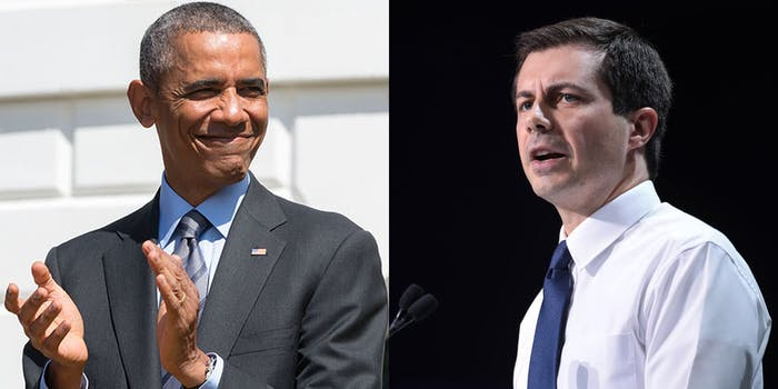 Pete Buttigieg Barack Obama Voice