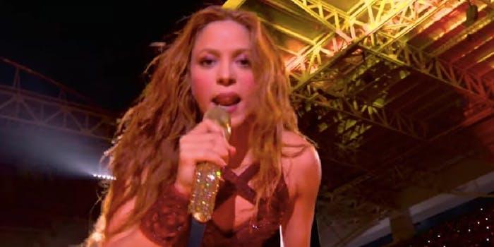 Shakira Zaghrouta halftime super bowl show