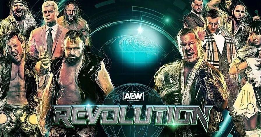 AEW Revolution live stream B/R Live