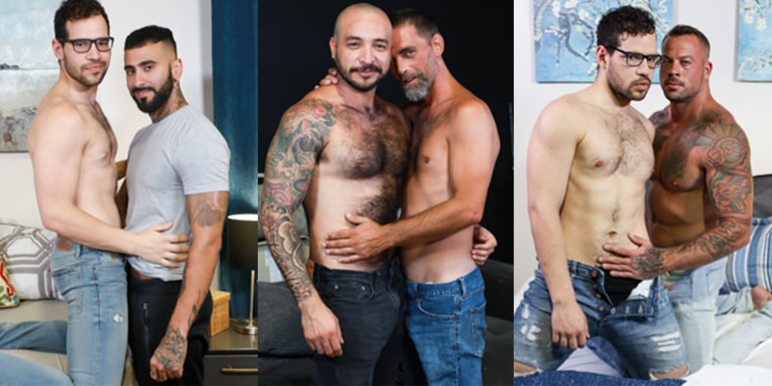 best gay daddy porn - men over 30
