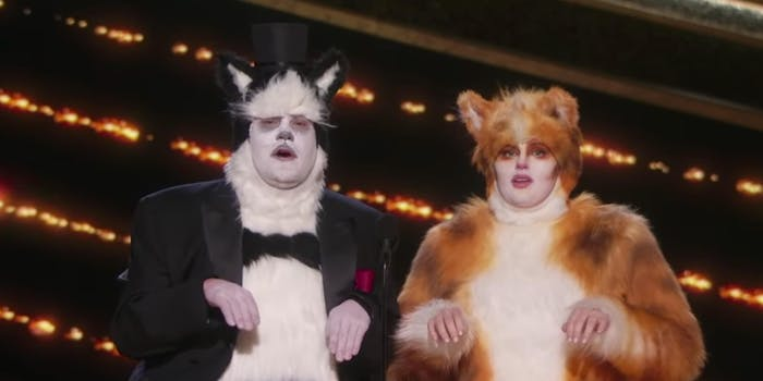 cats visual effects oscars