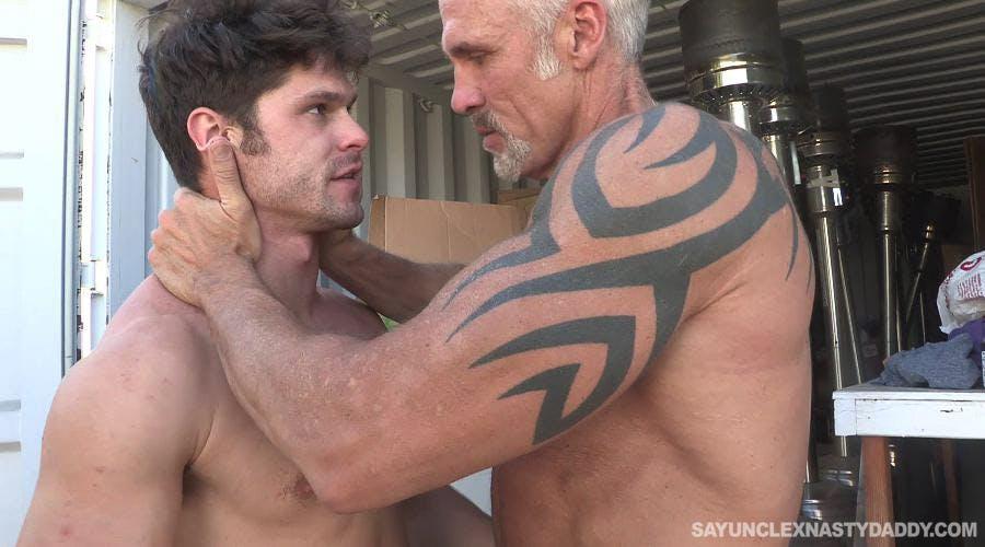 gay daddy porn - say uncle