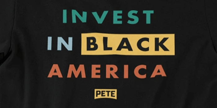 A T-shirt being sold by the Pete Buttigieg campaign is causing a stir online.
