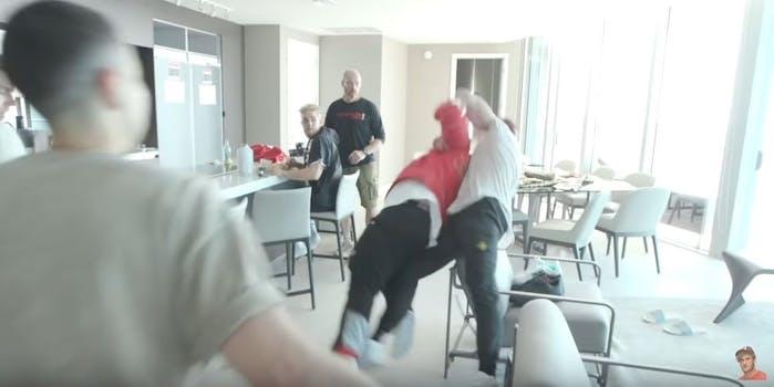 Logan Paul Arman Izadi fight