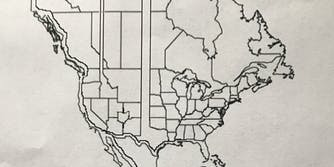 north american map revisions