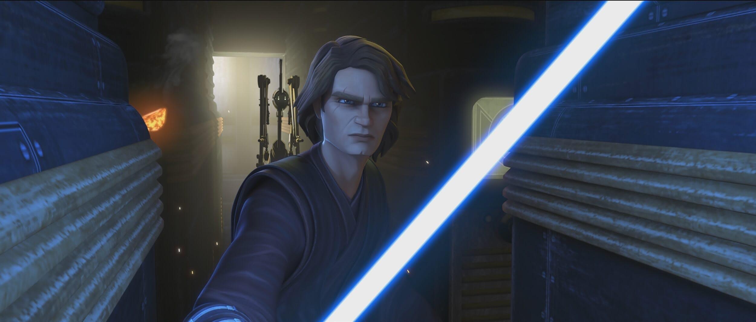 the clone wars guide anakin