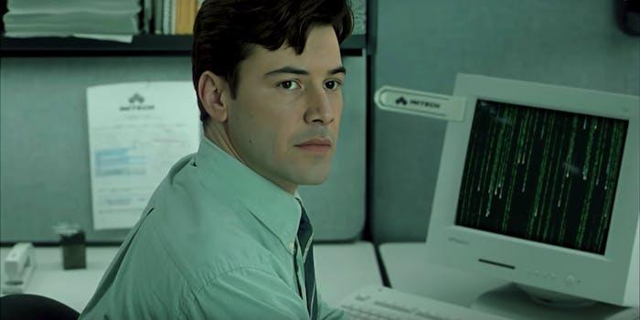 matrix office space deepfake