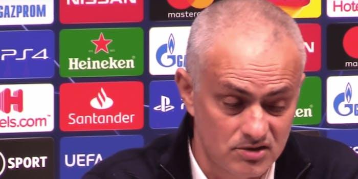 Jose Mourinho, Tottenham Hotspur manager