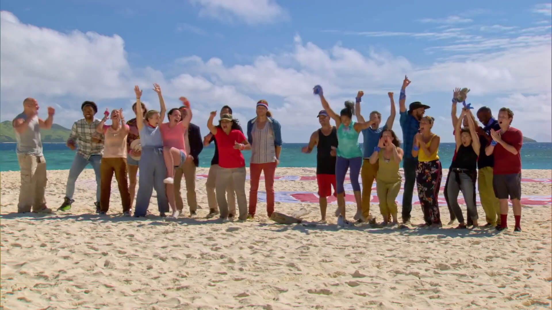 watch survivor winners at war contestants